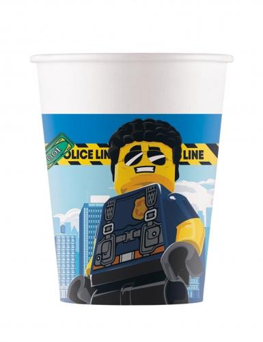Lego City™-Trinkbecher FSC® zertifiziert Tischdekoration 8 Stück bunt 200 ml