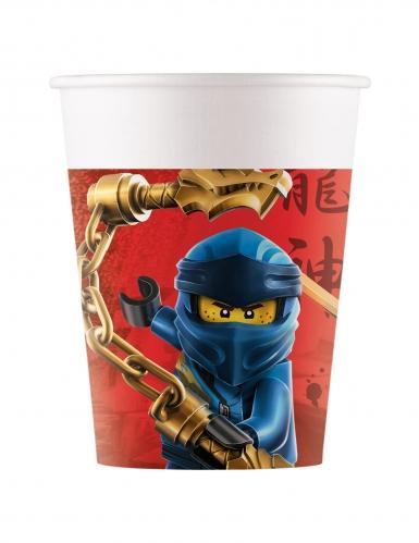 Lego Ninjago™-Pappbecher FSC® zertifiziert 8 Stück bunt 200 ml