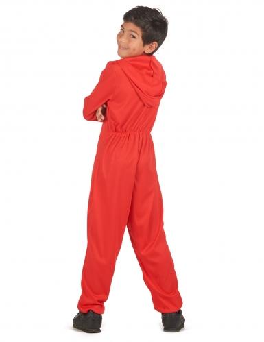 Bankräuber-Kostüm für Kinder Film-Figur rot-schwarz-2