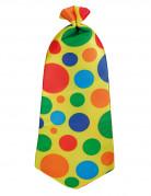 Clown-Krawatte für Herren