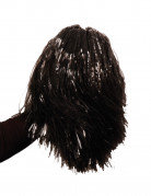 Pompon Fan schwarz