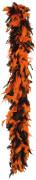 Boa orange-schwarz für Erwachsene