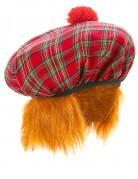 Schottische Tellermütze für Erwachsene