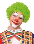 Afro-Perücke Clown hellgrün für Erwachsene