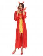 Teufelinnen-Kostüm Halloween für Damen