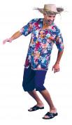 Urlauberkostüm Hawaii für Herren