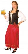 Dirndlkostüm Kellnerin für Damen