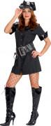 Polizeioffiziers-Kostüm für Damen
