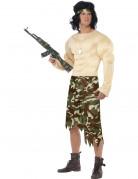 Super Muskelprotz-Soldaten-Kostüm für Herren