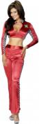 Sexy Rennfahrerinnen-Kostüm für Damen