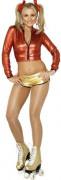 Sexy Roller Girl-Kostüm für Damen