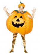 Aufblasbares Kürbis-Kostüm Halloween für Erwachsene