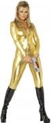 Spionin-Kostüm für Damen Disco