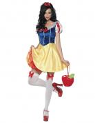 Sexy Märchen-Prinzessin Damen-Kostüm gelb-blau
