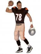 American Football-Spieler Kostüm Essen