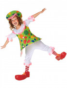 Clownkostüm Jimbo für Mädchen