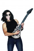 Aufblasbare Rockstar-Gitarre