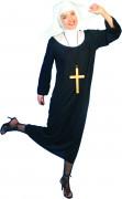 Deluxe Nonnen-Kostüm für Damen
