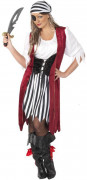 Piratenköniginnen-Kostüm für Damen