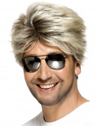 Kurze blonde Perücke für Herren
