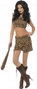 Sexy Höhlenfrau-Kostüm für Damen