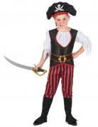 Piraten-Faschingskostüm für Jungen bunt