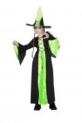 Grünes Hexenkostüm für Mädchen zu Halloween