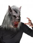Halloween-Werwolfsmaske für Erwachsene mit Pelz