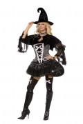 Sexy Hexenkostüm Halloween für Damen
