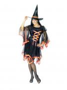 Hexen-Kostüm Halloween für Damen