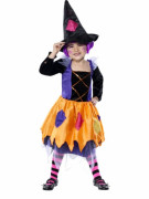 Hexen-Kostüm für Mädchen zu Halloween