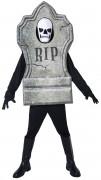 Grabstein-Kostüm Halloween für Erwachsene