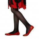Schwarze Halloween-Strumpfhose für Kinder