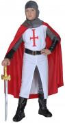 Mittelalterliches Kreuzritter-Kostüm für Jungen