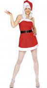 Sexy Weihnachtsfrau-Kostüm