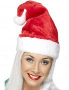 kuschlig samtige Weihnachtsmannmütze