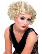 Cabaret-Perücke blond für Damen