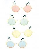 Runde Hippiebrille für Erwachsene