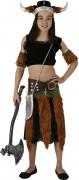 Wikinger-Kostüm für Mädchen