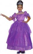 Prachtvolles Prinzessinnen-Kostüm für Mädchen lila