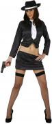 Sexy Gangster-Kostüm für Damen