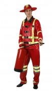 Feuerwehr-Kostüm für Herren