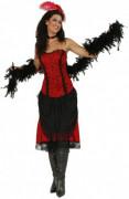 Damenkostum Revue-Tänzerin