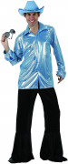 Herren-Disco-Kostüm in Blau