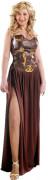 Sexy mittelalterliches Kriegerinnen-Kostüm für Damen