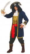 Piratenkapitän-Herrenkostüm bunt
