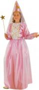 Mädchen-Kostüm Rosa Fee