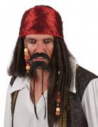 Piratenschnurrbart und Kinnbart für Erwachsene