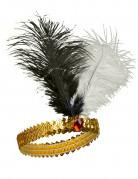 20er-Jahre Charleston-Stirnband gold