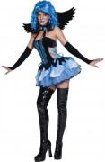Nachtengel-Kostüm Halloween für Damen